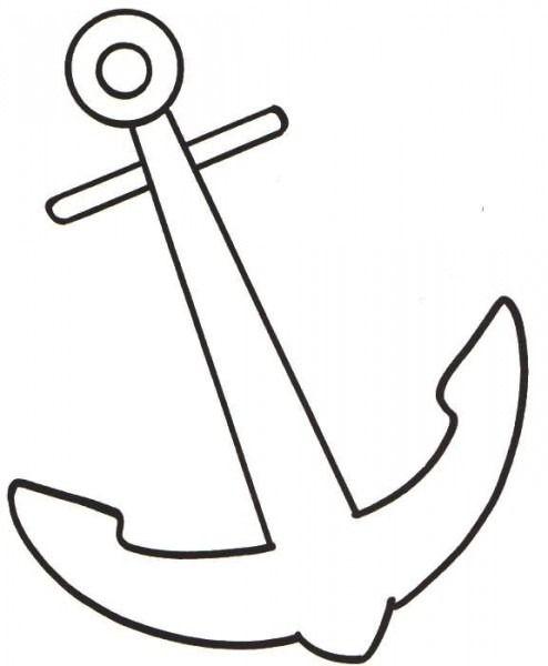 Dibujos De Anclas Para Colorear Dibujos De Anclas Dibujo De Barco Anclas