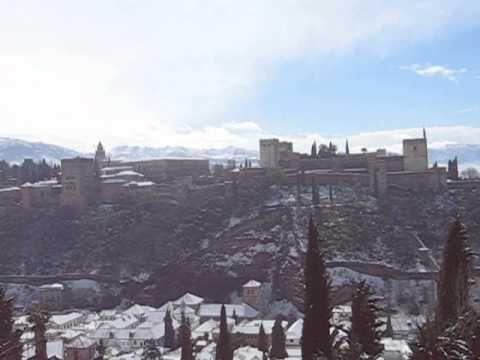 alhambra nevada desde san nicolas - YouTube