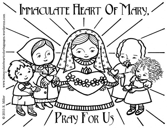 To print the Immaculate Heart of Mary coloring page click HERE. or here: Today as I was going through my blog I realized that I had never made a post for this coloring page. It's one of my …