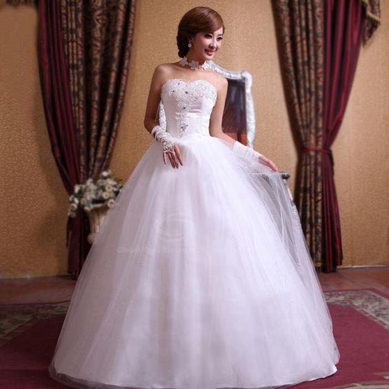 Vestidos de novia baratos y hermosos. Fotos