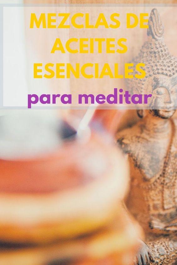 mezclas de aceites esenciales para meditar