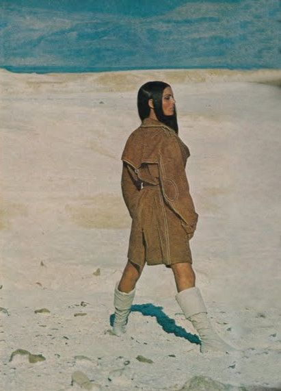Daliah Lavi 1969, Vogue, by John Cowan: