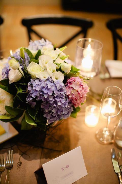 hortensien tisch
