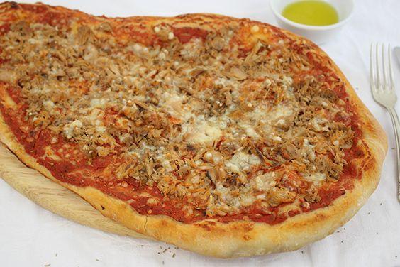 Ich habe das perfekte Rezept für selbst gemachte Pizza! Es schmeckt traumhaft!