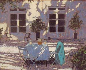 Mike Hall original 'Drinks in the Shade':