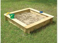 """Sandkasten """"Felix"""" klein 120 cm x 120 cm"""