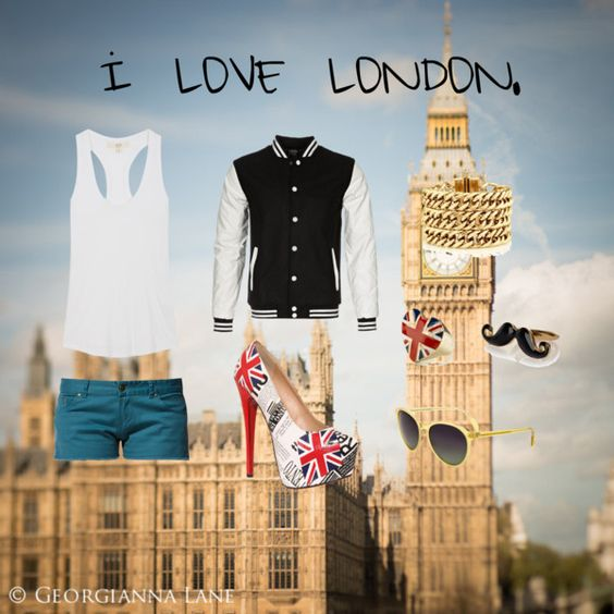 """LONDON."" by ohlightwood ❤ liked on Polyvore"