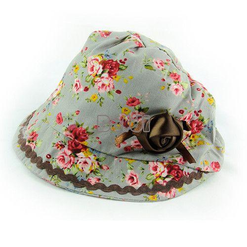 New Hot Children Girl Princess Infant Cap Rose Floral Flower Caps Hat Petal BF00 | eBay  AU $2.18