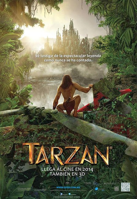Tarzan 3D - 07 Kasım 2014 Cuma   Vizyon Filmi #Tarzan #3D #Sinema #Movie #film #Vizyon http://www.renklihaberler.com/sinema-664-Tarzan-3D