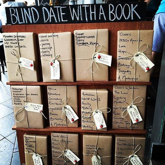 Blind date with a book club
