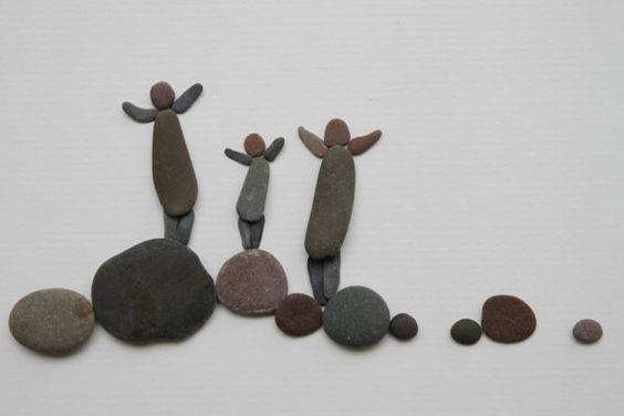 Arte con piedras.: