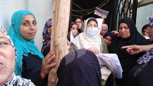 قومي المرأة يستخرج 100 بطاقة رقم قومي بالشرقية Fashion Hijab