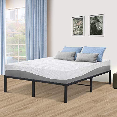 Sleeplace 14 Inch Tall Spt 200 Steel Slat Bed Frame Non Slip