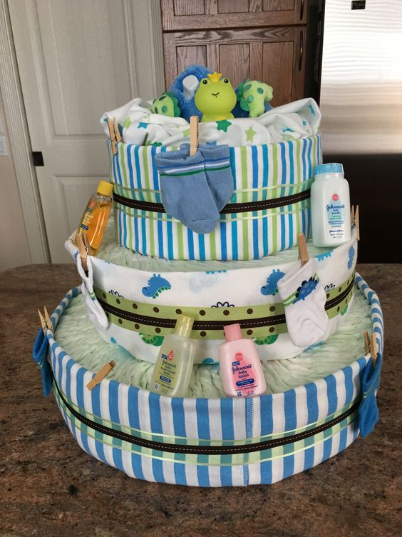 Diaper Cake - by Trena