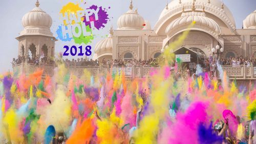 Holi 2018 Greetings Wallpaper In 4k Hd Wallpapers Wallpapers Download High Resolution Wallpapers Holi 2018 Holi Festival Of Colours Holi