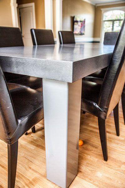 Decorative Concrete Tables And Concrete Table On Pinterest