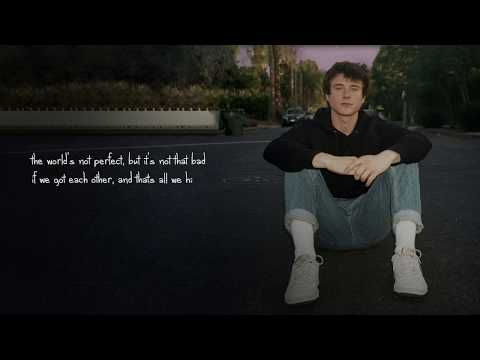 Alec Benjamin If We Have Each Other Official Lyric Video Youtube Lyrics My Music Playlist Song Artists
