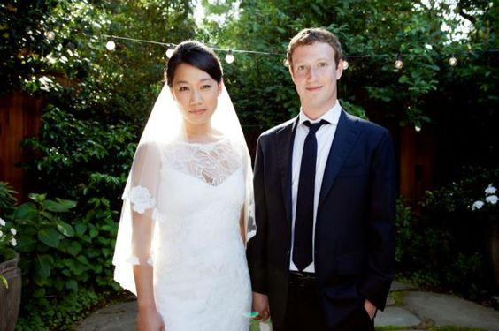 Congratulations to the newly married couple What a week. After eight years, Mark Zuckerberg takes Facebook public  His longtime girlfriend Priscilla Chan gets her medical degree from the UC San Francisco. He has his 28th birthday.