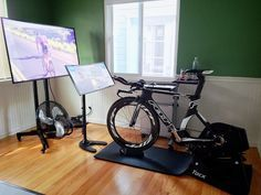Pin By Ray Hoben On Indoor Bike Trainer In 2020 Bike Room Gym