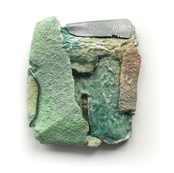 Myung Urso - Trans-Form at Velvet da Vinci - brooch: