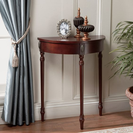 Bombay Antique Cherry Demilune Table ($79.99 at BBB)