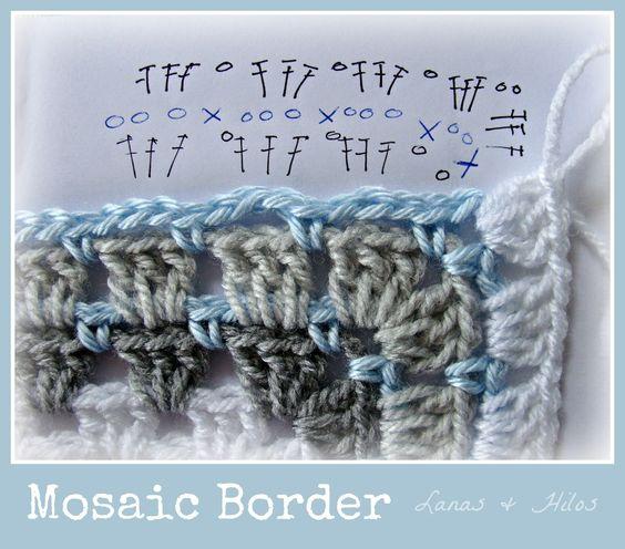 mosaic border pattern