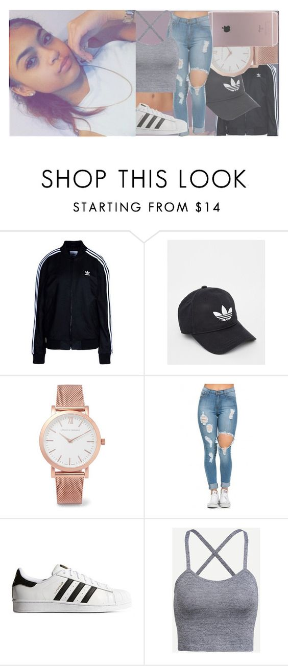 """""""i never knew you could hold moonlight in your hands ... ~angelina"""" by st-tr0pez ❤ liked on Polyvore featuring adidas Originals, adidas and Larsson & Jennings"""