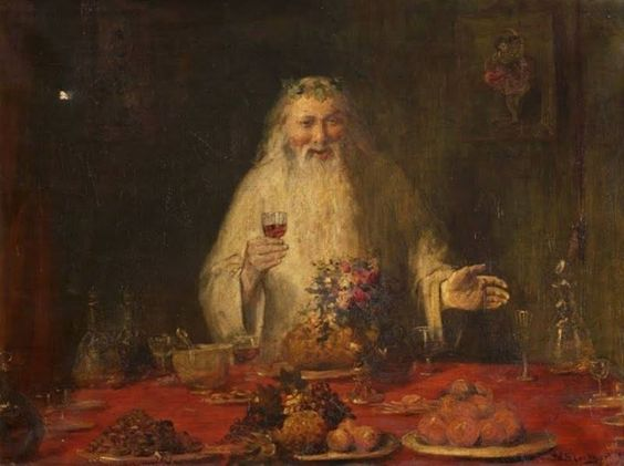 Old Father Christmas by William Ewart Lockhart