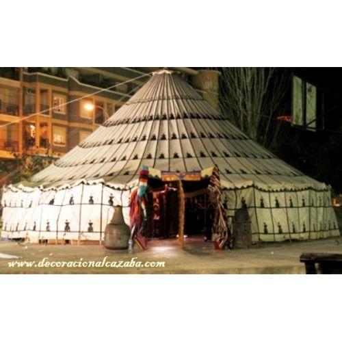 697 43 11 00 Tamaño 1: Diámetro: 4 m, capacidad: 13 m2 Tamaño 2: Diámetro: 6 m, capacidad: 29 m2 Tamaño 3: Diámetro: 8 m, capacidad: 44 m2 Tamaño 4: Diámetro: 11 m, capacidad: 95 m2 - See more at: http://decoracionalcazaba.com/es/jaimas-arabes/371-jaimas-arabes-redonda.html#sthash.z8Cnqzun.dpuf