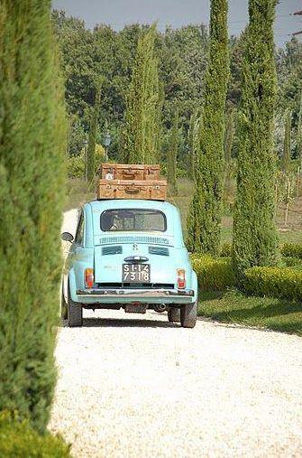 Italiaanse Fiat 500 voor het echte vakantie gevoel!: