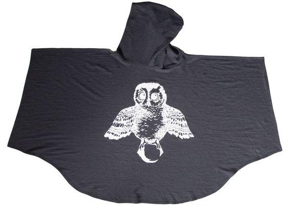 """Salt City Emporium  """"Midnighter Mantle"""" children's hooded blanket"""