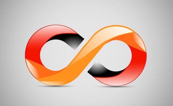 3D Logo for a client  #3d #logo #design #infinity