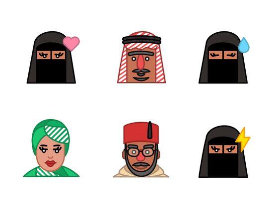 Arabojis The Set Of Arabic Emojis By Pixies Emoji Pixie Arabic