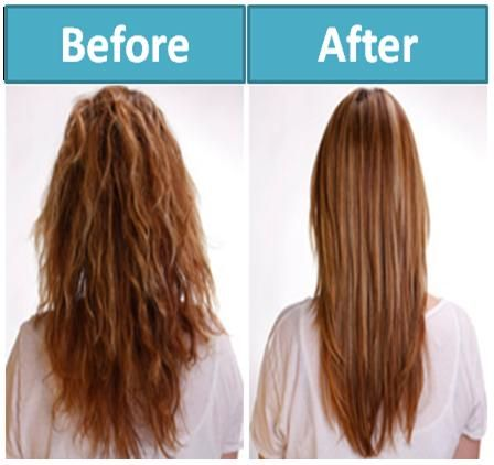 how to naturally straighten hair how to rid frizzy