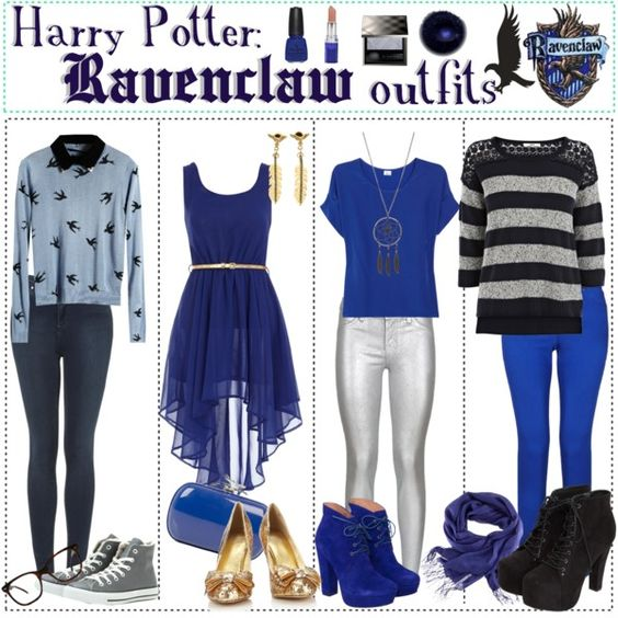 Harry Potter Ravenclaw Outfits By Roseygal 16 On