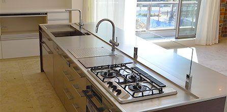 タニコー 家庭用 オーダーキッチン 業務用キッチン イメージ