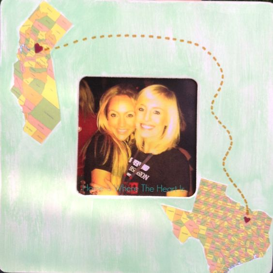 Going away gift picture frame.