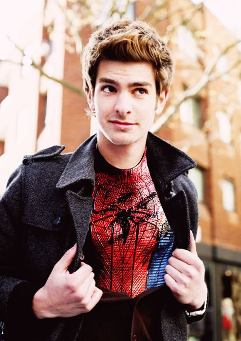 Andrew Garfield, without the beard....