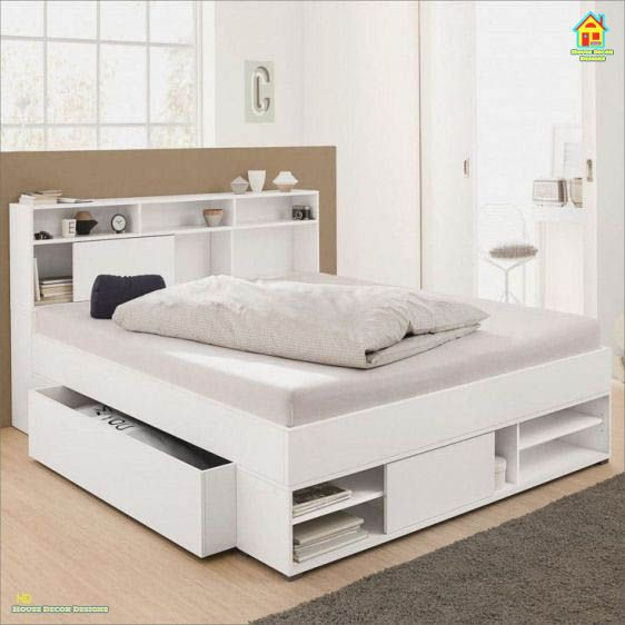 Space Saving Bedroom Storage Ideas And Designs In 2020 Bed