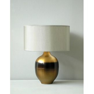 remake lamps with spray paint to look like this