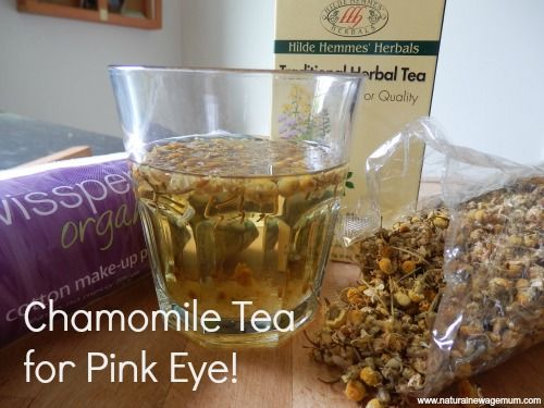 How to use chamomile tea to treat conjunctivitis (or pinkeye)!