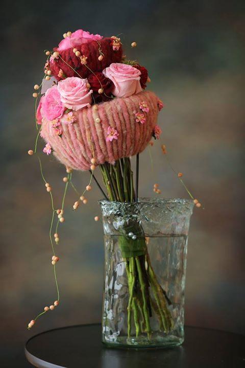 rozen met wol-lont (crea paloppo)