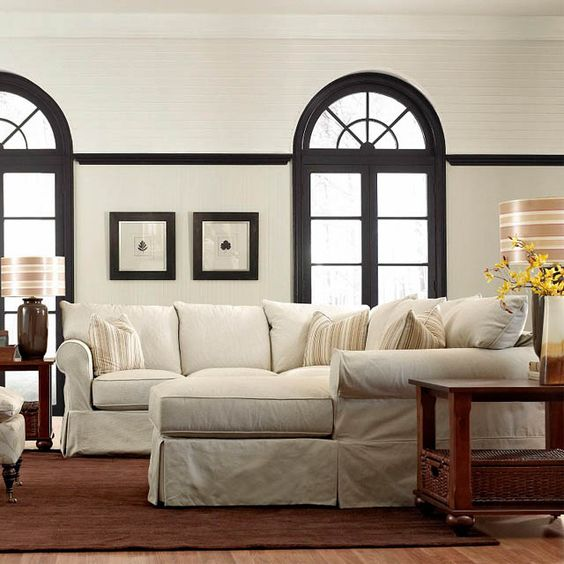 Jenny 3pc Slipcover Sectional - Bernie And Phyls
