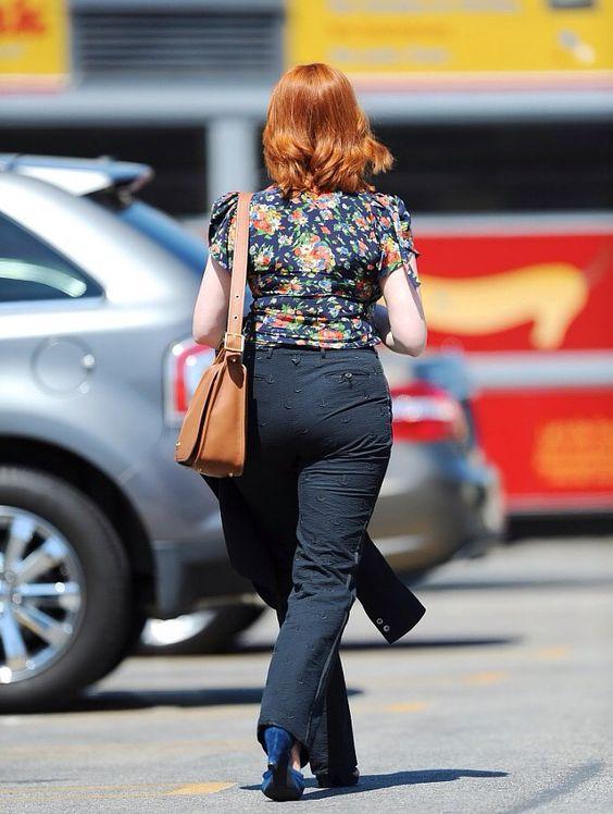 Hendricks. Heaven in those trousers.