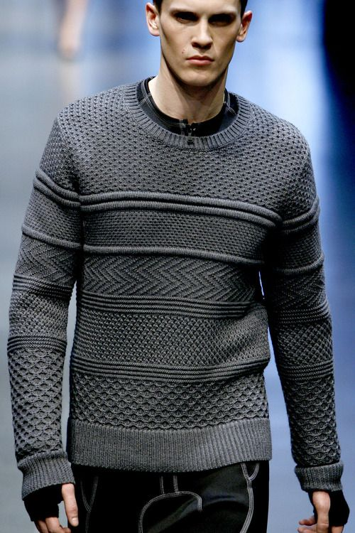 Adding interest to men's sweaters (that they might actually wear)