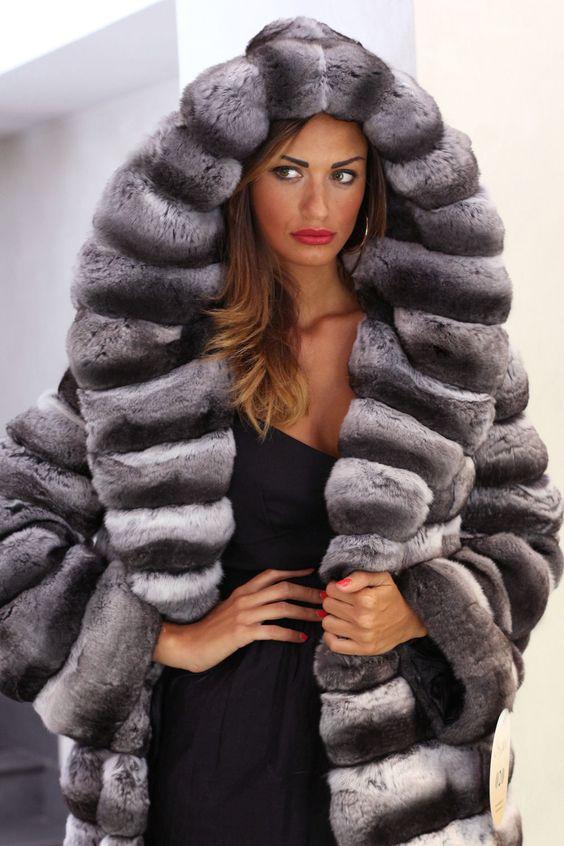 Chinchilla Fur Coats - Coat Nj