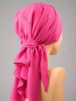 Elegant flamingo pink scarf $45.00