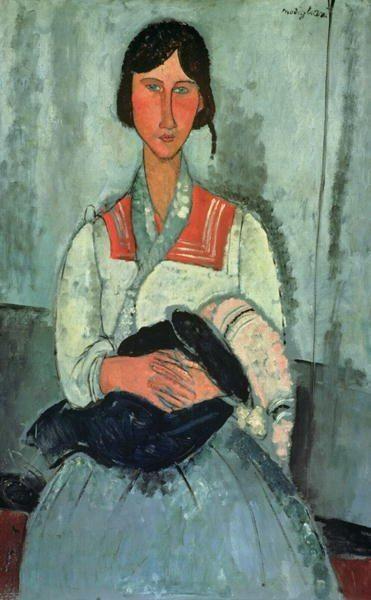 do meu amigo Modigliani