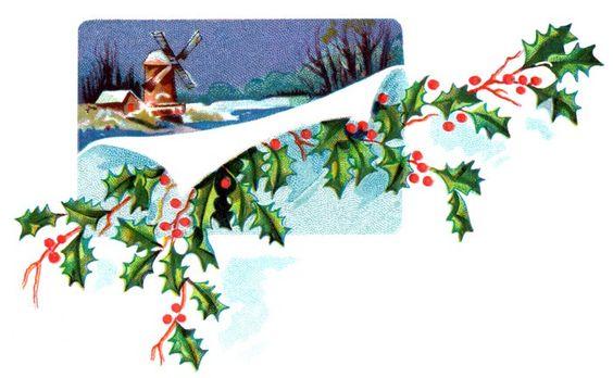 Free Christmas Art :: Image 2: