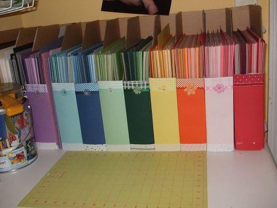 Scrap paper organization